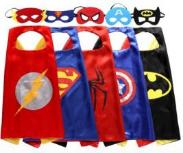 Zaleny Superhero Dress Up Costume Set (Includes 5 Superheroes) Only $18.95