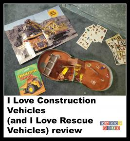 I Love Construction Vehicles (and I Love Rescue Vehicles) review