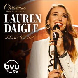 Christmas Under the Stars Featuring Lauren Daigle Review & Giveaway