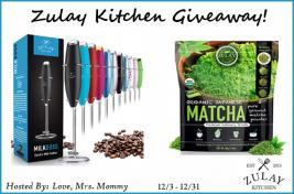 Zulay Kitchen Prize Package Giveaway!